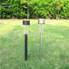 Discount Outdoor Solar Stainless Steel Led Landscape Garden Path Garden Lights Led Solar