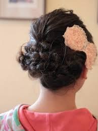 ピアノ発表会 髪型 子供 アップスタイル ヘアアレンジ 美容室エスポワール