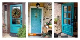 turquoise front doorTeam Bowen New Front Door