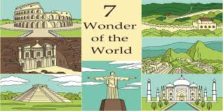short note essay on seven wonders of the world festive  new seven wonders of the world