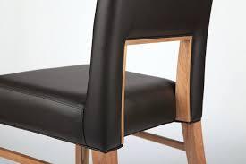 scandinavian leather furniture. Scandinavian Leather Chair Wood Dining Modern Design Minimalist Retro Cafe Bar Restaurant Chairs In Furniture