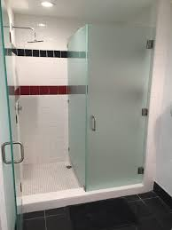 frosted glass shower enclosure. Gym Locker Frosted Glass Installation Shower Enclosure