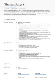 Retail Resume Samples Templates Visualcv