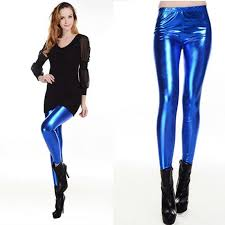 women y leggings stretch pu leather pants gold bright leather shiny leggings for women juniors pants