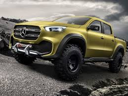 The Mercedes-Benz X-Class is One Rugged and Refined German Pickup ...