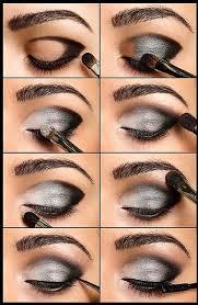 shiny smokey eye tutorial