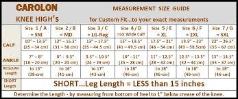 Carolon Health Support Knee High 20 30 Mmhg Sm 3xl