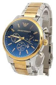 buy emporio armani gold silver steel men watch shop fashion emporio armani gold silver steel men watch