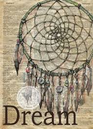 Dream Catcher Definition Dreamcatcher mixed media drawing on collegiate dictionary page 17