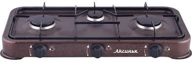 Настольная <b>плита Аксинья КС</b>-103, <b>Brown</b> газовая — купить в ...