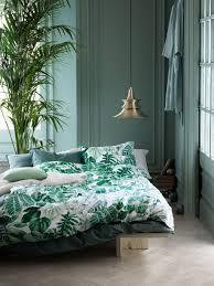 Schlafzimmer Wand Modern Facotti Bettwäsche Bilderwand Gestalten