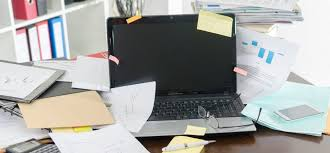 de clutter tired of a messy desk try these 7 tips to declutter inc com