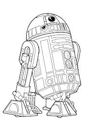R2d2 Coloring Page Coloring Page Coloring Page Coloring Page Star