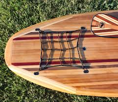 specialty wooden paddle boards made by a master craftsmen