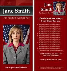 Campaign Brochure 16 Political Brochure Templates Free Psd Ai Eps Format