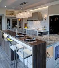 Modern kitchen island Quartz Airy Modern Kitchen By Drury Design Pinterest 27 Best Kitchen Island Raised Bar Images Modern Kitchens Kitchen