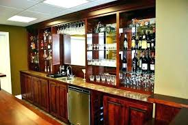 basement bar furniture. Bars For Dining Room Custom Home Bar Furniture Cherry Basement Kitchen  Remodeling Ideas
