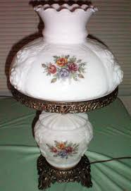 fenton milk glass completed w lamps shade lamp fenton parlor milk glass vintage