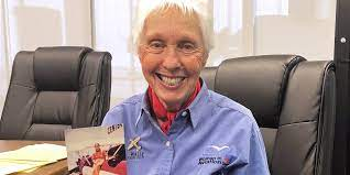 Wally Funk, 82, to join Jeff Bezos in ...