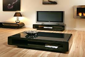 low black coffee table with storage