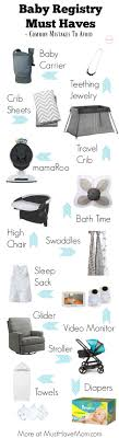 Target Baby Registry Must Haves + Common Mistakes To Avoid - Must ...