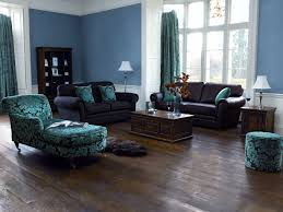 Painting Living Room Blue Blue Brown Paint Wall Living Room Rhama Home Decor
