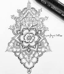 Olivia Fayne Tattoo Design Gallery Mandala Tetování Tetování