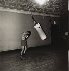 Art Bag Nyc Diane Arbus Boxer With A Punching Bag Nyc 1964 F I G H T
