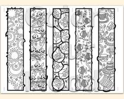 Small Picture Printable coloring zendoodle bookmarks Bookmarks Colouring and