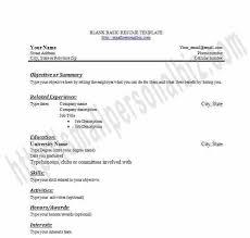Free Printable Resume Builder From Printable Blank Resume Templates