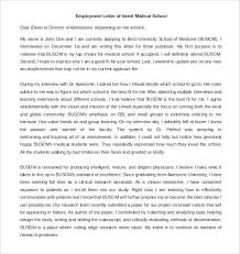 9 Employment Letter Of Intent Word Pdf Free Premium