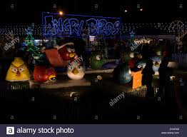 Where Is The Festival Of Lights In Hidalgo Tx Angry Birds Display At The Festival Of Lights Show In