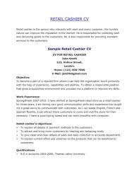 Exquisite Retail Cashier Resume Dazzling Resume Cv Cover Letter