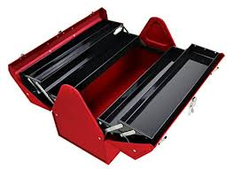 kennedy cantilever tool box. kennedy manufacturing 1022r 22\u0026quot; hand-carry cantilever tool box, industrial red box u