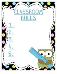 classroom rules template classroom rules template by cassie hallmark teachers pay teachers