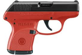 ruger lcp 380 auto red titanium carry conceal pistol