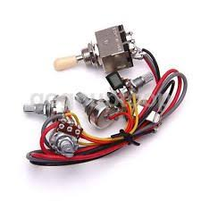 how to pick a guitar wiring harness guitar wiring harness 3 way toggle switch 2 volumes 2 tone jack for les paul