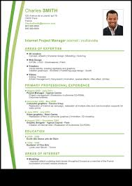 Thematic Cv Template
