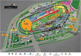 Daytona 500 Seating Chart 2019 Facility Map Daytona International Speedway In 2019