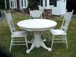 contemporary distressed distressed white wood dining table rustic image of round ideas and distressed white wood dining table e