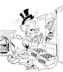 Donald Duck Kleurplaten Printen