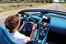 aston martin vanquish interior blue. interior of the new aston martin vanquish volante blue i