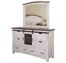 white wash dresser. Puebla Rustic White Wash Dresser D