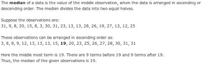 What Is Median In Statistics Math Statistics 1682045