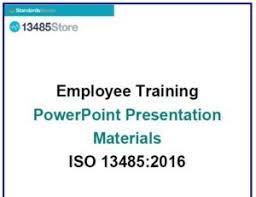 Employee Training Powerpoint Iso 13485 2016 Employee Training Ppt Iso 13485 Store