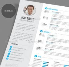 Innovative Resume Templates Cool Resume Templates Graphic Design Resume Template By Zippypixels 83