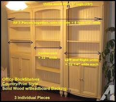 Cottage style office furniture Coastal Living Office Furniture Bookshelf Units 3 To Be Sold As 1 Cottege Design Style For Your Inspiration Office Furniture Bookshelf Units 3 To Be Sold As 1 Cottage Style
