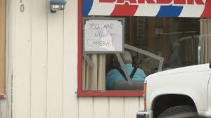 Eugene barber shop frustrated over broken windows