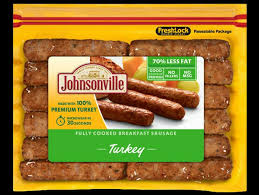 fully cooked turkey breakfast sausage