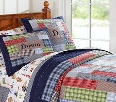 2. Pottery Barn Kids Dustin Quilted Bedding | Bedrooms | Pinterest ... & Pottery Barn Kids Dustin Quilted Bedding Adamdwight.com